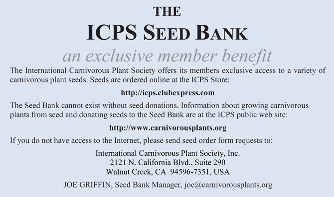 ICPS Seed Bank